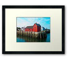 Motif #1 - Rockport Framed Print