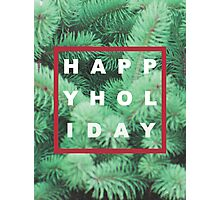Happy Holiday Photographic Print