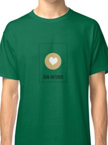 I Love San Antonio Classic T-Shirt
