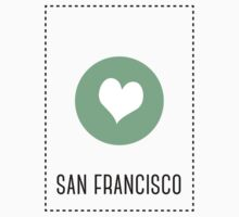 I Love San Francisco Kids Tee