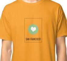 I Love San Francisco Classic T-Shirt