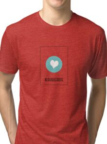 I Love Albuquerque Tri-blend T-Shirt