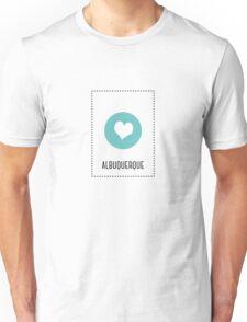 I Love Albuquerque Unisex T-Shirt
