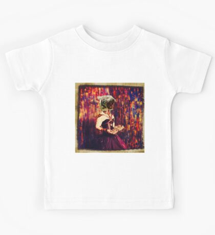Out with a roar,abstract,surreal art Kids Tee