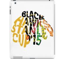 Chicago Blackhawks Stanley Cup 2015 iPad Case/Skin