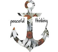 Peaceful Thinking Photographic Print