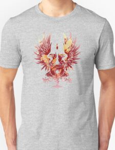 Dragon Age - Grey Warden Heraldry (Red/Gold) Unisex T-Shirt