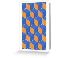 Geometrics 2 Greeting Card