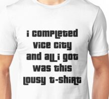 Grand Theft Auto Vice City 100% Reward Unisex T-Shirt