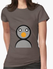PIXEL PENGUIN!!!!!!!!!!!!!!!!!!!! Womens Fitted T-Shirt