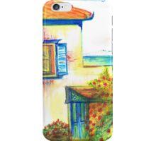 Hydra House Greek Island iPhone Case/Skin