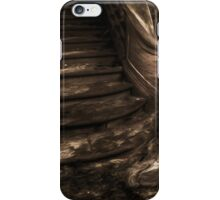 Girl on Stairs iPhone Case/Skin