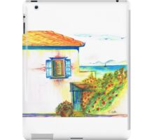 Hydra House Greek Island iPad Case/Skin