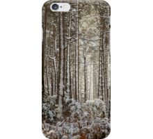 Snowed Forest iPhone Case/Skin
