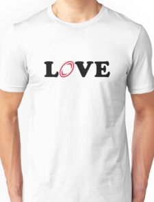 Rugby love Unisex T-Shirt