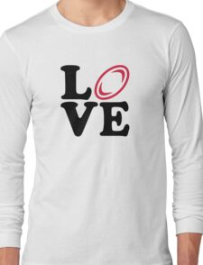 Rugby ball love Long Sleeve T-Shirt