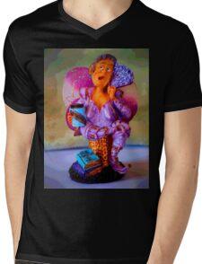 Hot Flash Hattie Mens V-Neck T-Shirt
