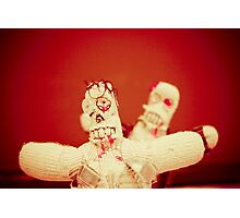 Zombie Doll Attack-2 Photographic Print