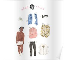 A$AP Rocky Paper Doll Poster