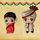 Indian Chibis by artwaste