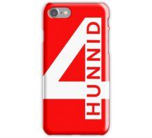 yg - 4hunnid iPhone Case/Skin