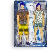 Disco children Canvas Print