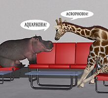Conversation In Psychiatrist's Waiting Room by Mythos57