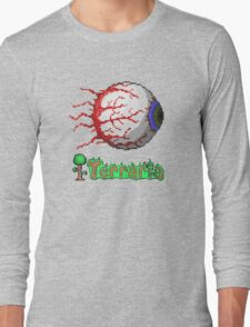 terraria eye Long Sleeve T-Shirt
