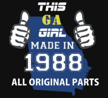 This Georgia Girl Made in 1988 by satro