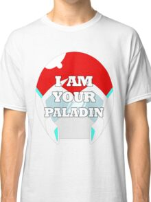 """""""I AM YOUR PALADIN"""" Keith from Voltron Classic T-Shirt"""