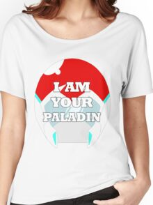 """""""I AM YOUR PALADIN"""" Keith from Voltron Women's Relaxed Fit T-Shirt"""