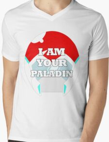 """""""I AM YOUR PALADIN"""" Keith from Voltron Mens V-Neck T-Shirt"""