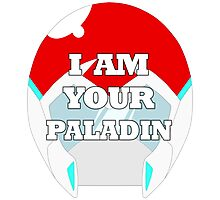 """I AM YOUR PALADIN"" Keith from Voltron Photographic Print"