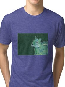 Chipmunk Spirit Animal Tri-blend T-Shirt