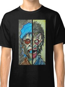 Two Half Zombie Classic T-Shirt