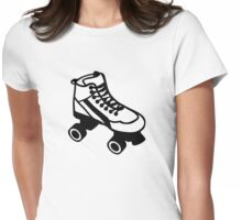 Rollerskate Womens Fitted T-Shirt