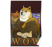 Mona Doge Poster