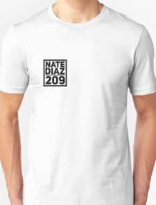 Nate Diaz 209 Stockton Unisex T-Shirt