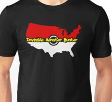 US Monsters Trainer, Invisible Monsters Hunter Go Team T-Shirt Unisex T-Shirt