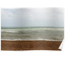 The Brighton Seafront Poster