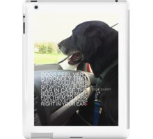 Dogs Riding in Cars iPad Case/Skin
