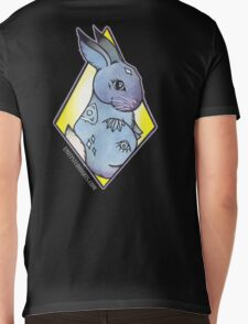 Easter Bunny takes Halloween Mens V-Neck T-Shirt