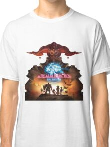 FINAL FANTASY A REALM REBORN FIGHT Classic T-Shirt
