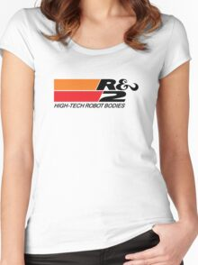 K&N High Tech Robot Bodies Women's Fitted Scoop T-Shirt