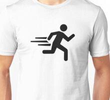 Fast runner Unisex T-Shirt