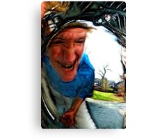 The Old Witch Canvas Print