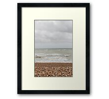 Curling Tide Framed Print