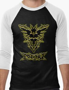 Brutal Team Instinct - Ultra Brutal Glow Men's Baseball ¾ T-Shirt