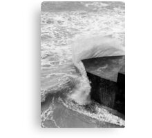Point of Impact Canvas Print