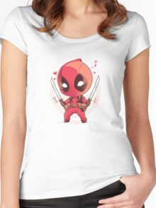 Dead Pool Women's Fitted Scoop T-Shirt